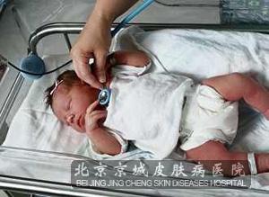 硬肿症宝宝的检查结果